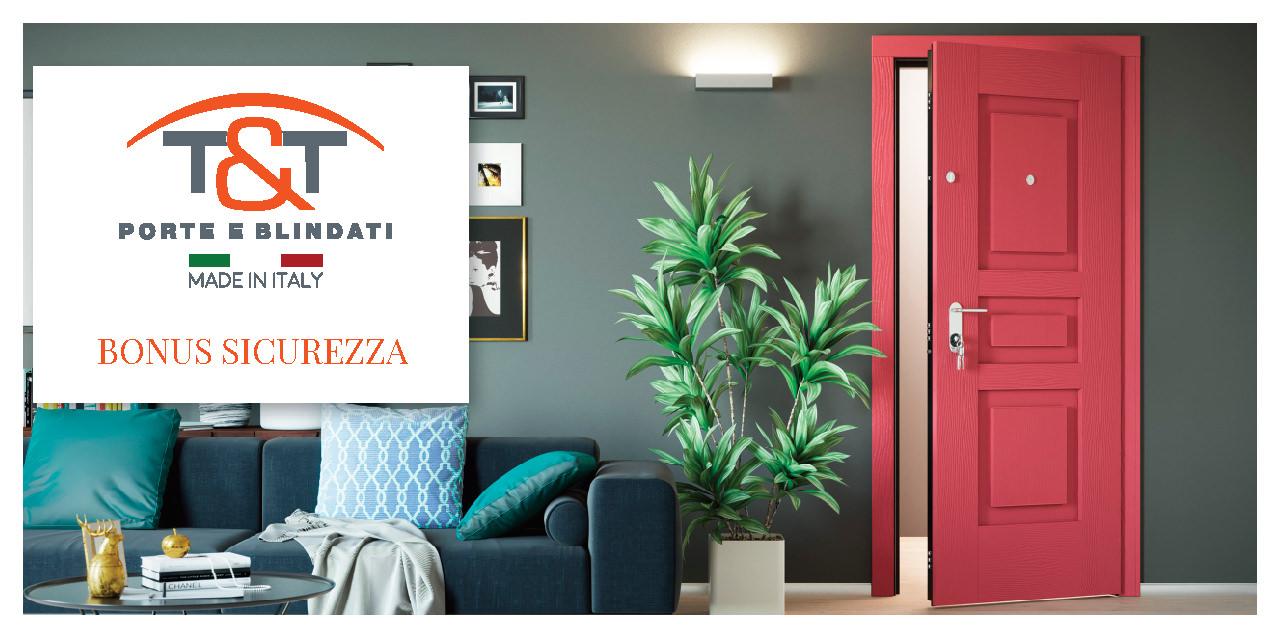 È ora di acquistare una nuova porta blindata. Con il bonus conviene.