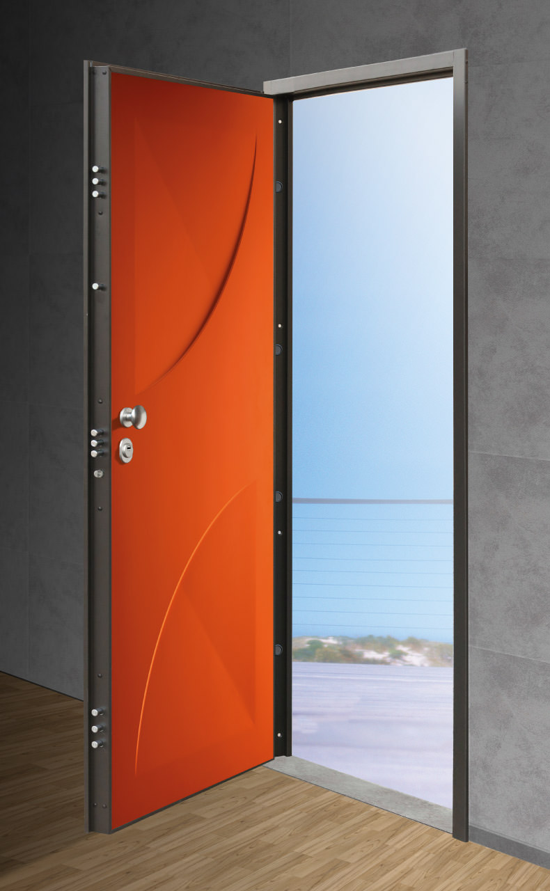 porta blindata filo muro - T&T Porte e Blindati